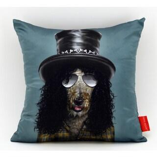 Empire Art Pets Rock Gnash Throw Pillow 18-inch
