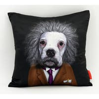 Empire Art Pets Rock Brian Throw Pillow 18-inch