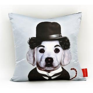 Empire Art Pets Rock Tramp Throw Pillow 18-inch