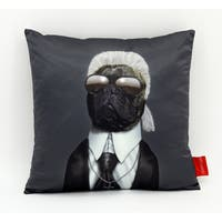 Empire Art Pets Rock Fashion Throw Pillow 18-inch