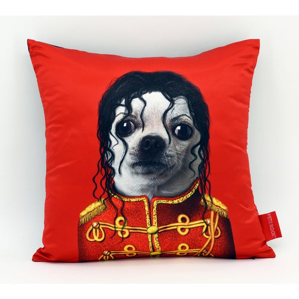 Empire Art Pets Rock Pop Throw Pillow 18-inch