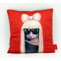 Empire Art Pets Rock GG Throw Pillow 18-inch