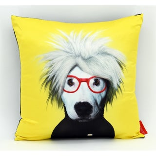 Empire Art Pets Rock Soup Throw Pillow 18-inch