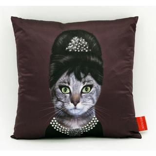 Empire Art Pets Rock Breakfast Throw Pillow 18-inch