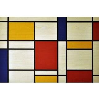 Empire Art 'Mondrian' UV Print