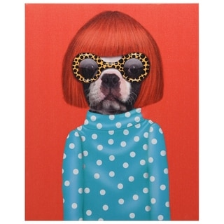 Empire Art Pets Rock 'Spots' High-resolution Giclee Printed on Cotton Canvas