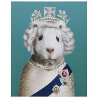 Empire Art Pets Rock 'HRH' High Resolution Giclee Printed Canvas