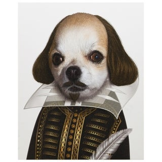 Empire Art Pets Rock 'Shakespeare' High-resolution Giclee Print