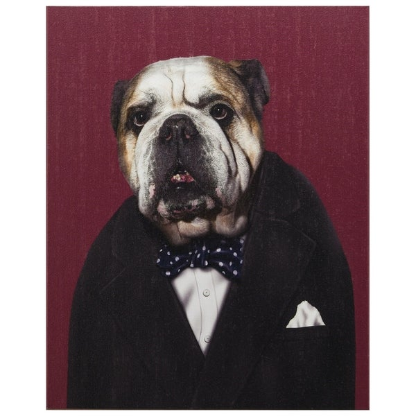 Empire Art Pets Rock 'Leader' High-resolution Giclee Printed on Cotton Canvas