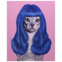 Empire Art Pets Rock 'Gurl' High-resolution Giclee Print
