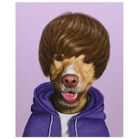 Empire Art Pets Rock 'Teen' High-resolution Giclee Printed on Cotton Canvas