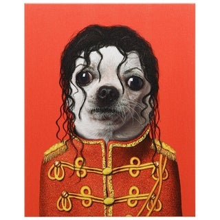 Empire Art Pets Rock 'Pop' High-resolution Giclee Printed Canvas