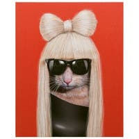 Empire Art Pets Rock 'GG' High Resolution Giclee Printed on Cotton Canvas