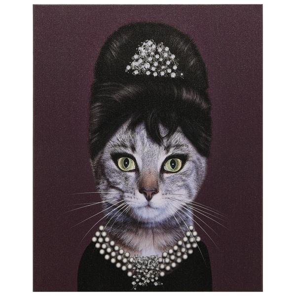 Empire Art Pets Rock 'Breakfast' High-Resolution Giclee Printed Canvas