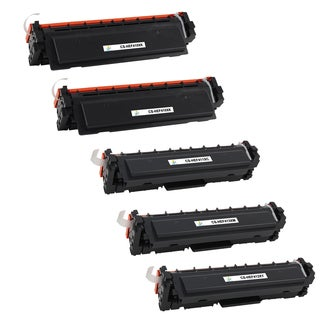 Compatible CF410X x2 and CF411X CF412X CF413X Toner Cartridge For HP LaserJet Pro M452 M477 MFP M377 (Pack of 5)