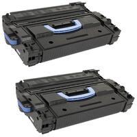 HP C8543X Remanufactured Compatible Black Toner Cartridge (Pack of 2)