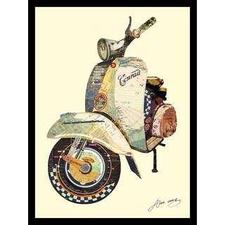 Empire Art Alex Zeng 'Scooter' Collage