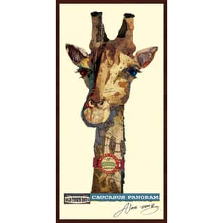 Empire Art Alex Zeng 'Giraffe Collage' Framed Art https://ak1.ostkcdn.com/images/products/12040757/P18911785.jpg?impolicy=medium