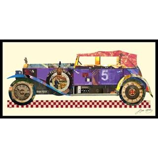 Empire Art Antique Automobile #2 Collage by Alex Zeng