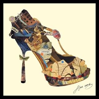 Empire Art Alex Zeng 'High Heel' Collage Art
