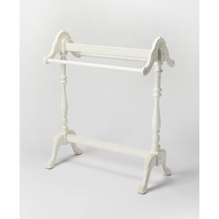 Butler Joanna Cottage White Wood Blanket Stand