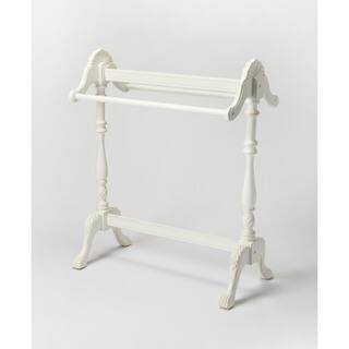 Butler Joanna Cottage White Wood Blanket Stand|https://ak1.ostkcdn.com/images/products/12040816/P18912345.jpg?impolicy=medium