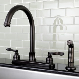 Incroyable Designer Oil Rubbed Bronze Kitchen Faucet With Side Sprayer