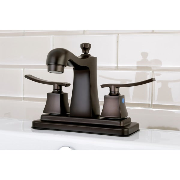 Euro Oil Rubbed Bronze 4 Inch Center Bathroom Faucet Free Shipping Today