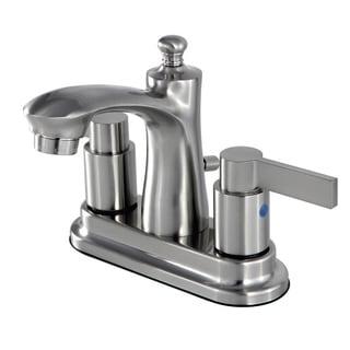 Fusion Satin Nickel 4-inch Center Bathroom Faucet