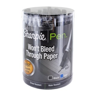 Sharpie Fine-point Porous Point Stick Pens (Case of 36)