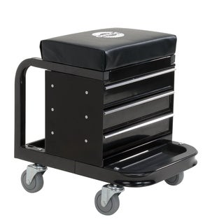 Omega 92450 450-pound Mechanic Toolbox Seat