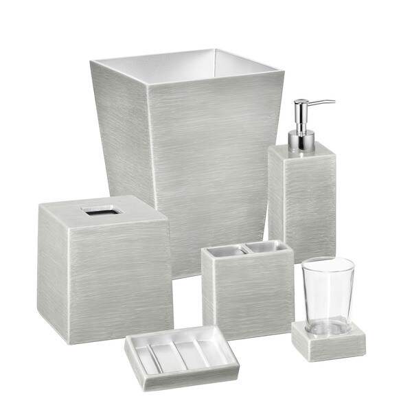 Mike and Ally Venetian Designer Hand Enameled Bath Accessory Collection - Pieces Sold Separately