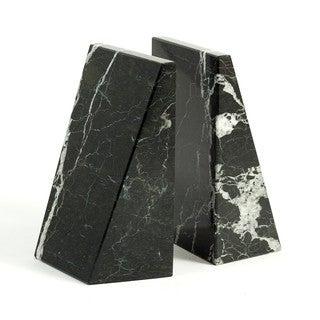 Bey Berk Black Wedge Marble Bookends