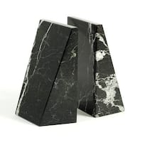 Bey Berk Black Wedge Marble Bookends
