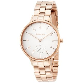 Skagen Women's SKW2417 'Anita' Rose-Tone Stainless Steel Watch