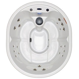 Home and Garden Spas White 5-person 21-jet 110-volt GFI Oval Spa