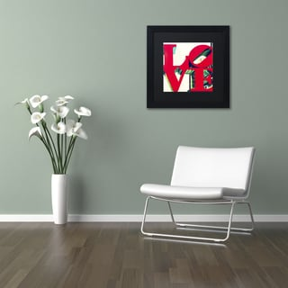 Philippe Hugonnard 'LOVE' Matted Framed Art