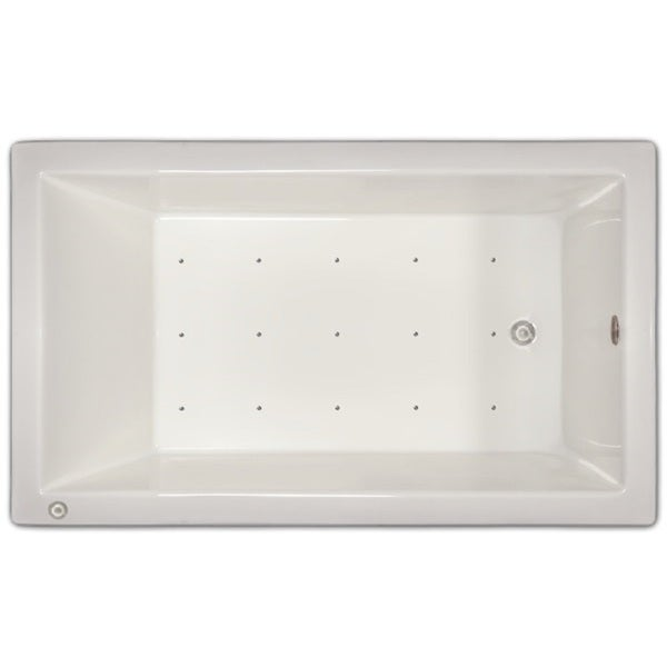 Shop Signature Bath White Acrylic 59 5 Inch X 35 5 Inch