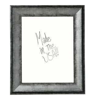 American Made Rayne Sterling Charcoal Dry Erase Board (More options available)