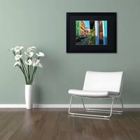 CATeyes 'Old San Juan 11' Matted Framed Art