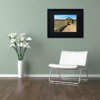 CATeyes 'Castillo San Felipe del Morro 8' Matted Framed Art