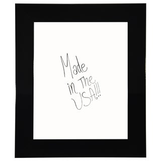 American Made Rayne Delta Black Dry Erase Board (More options available)