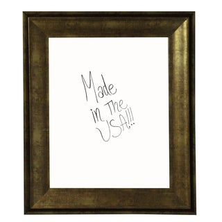 American Made Rayne Lustrous Champagne Dry Erase Board