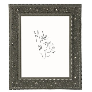 American Made Rayne Opulent Silver Dry Erase Board