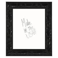 American Made Rayne Black Endicott Dry Erase Board