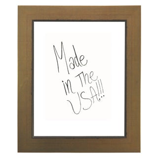 American Made Rayne Golden Lowe Dry Erase Board