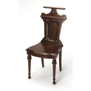 Butler Castle Heirloom Wood Valet Chair