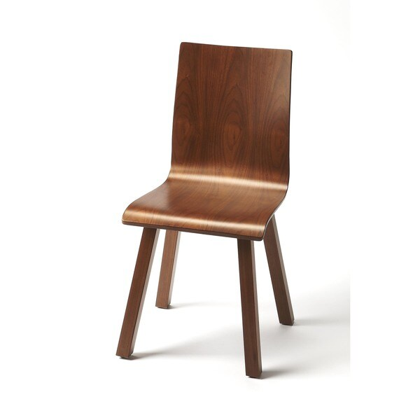 Butler oslo wood modern side chair 18912802 overstock com shopping