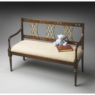 Butler Fawcett Appaloosa Wood Bench