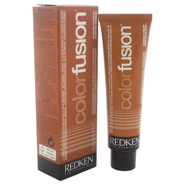 Redken Color Fusion Color Cream Natural Fashion # 7CR Cop...